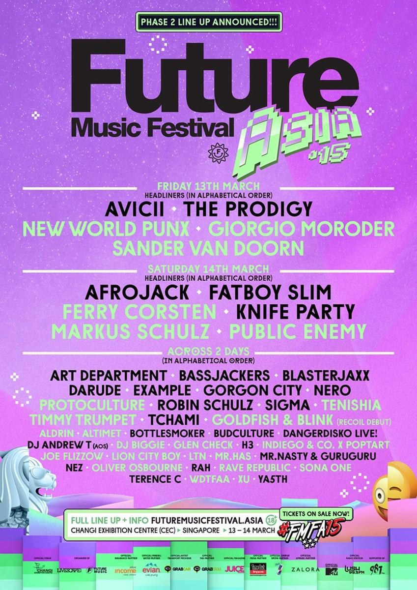 Supernova Stage, Music Pioneers Added To Future Music Fest