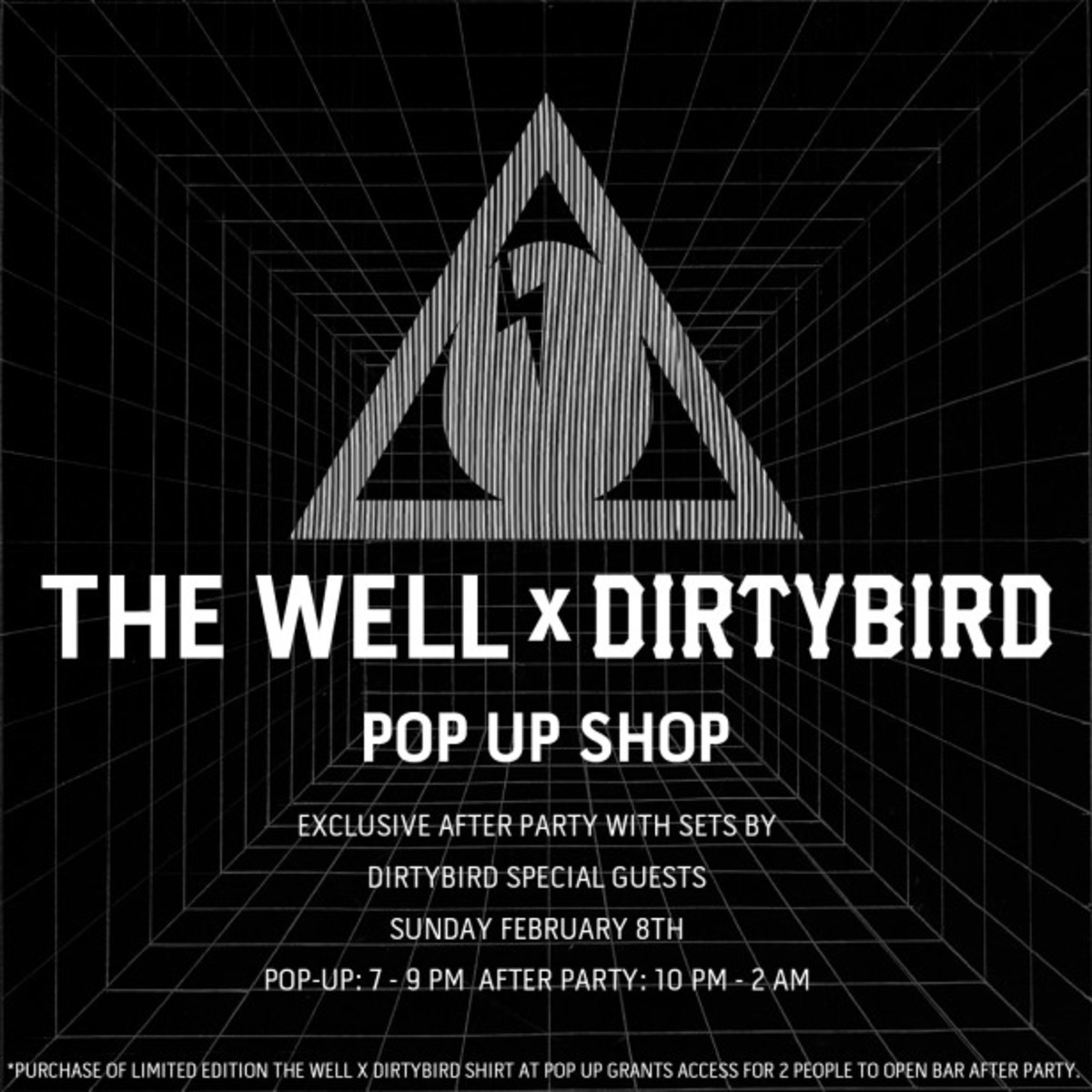 Pop-Up Party At The Well With Dirtybird Records