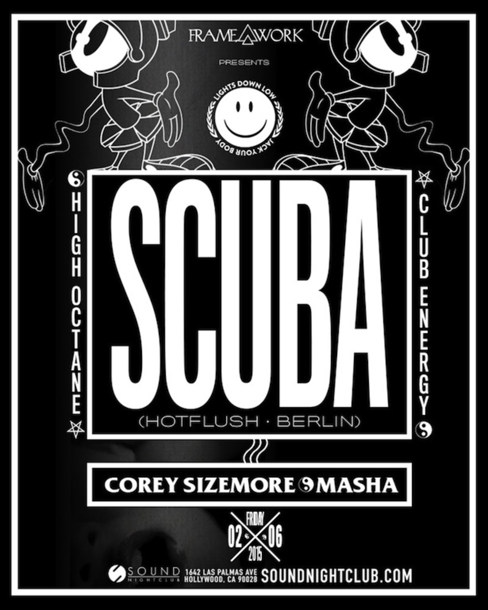 Lights Down Low Present Scuba at Sound This Friday - 2/6/15