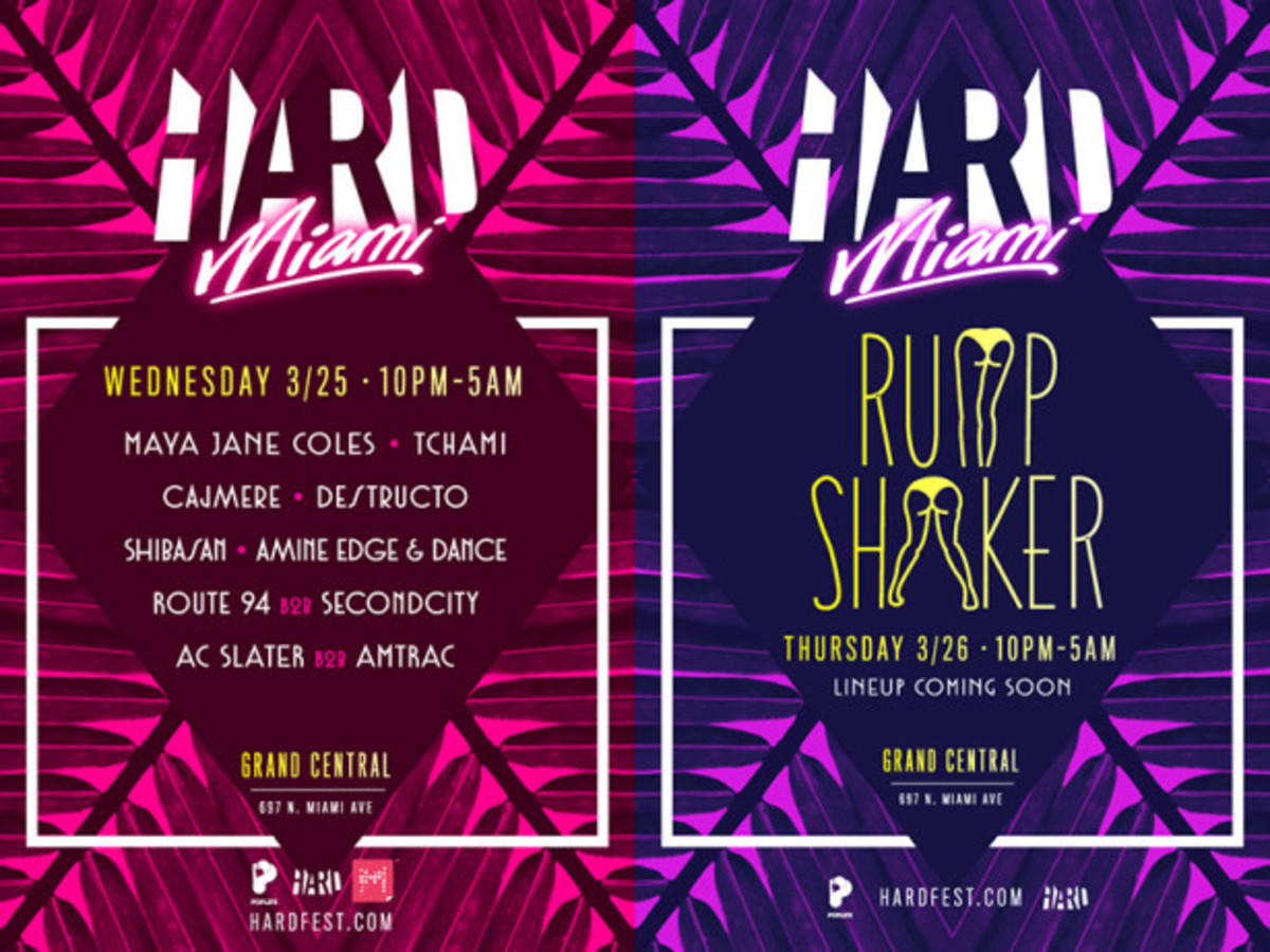 HARD Miami Announces Events, Lineup