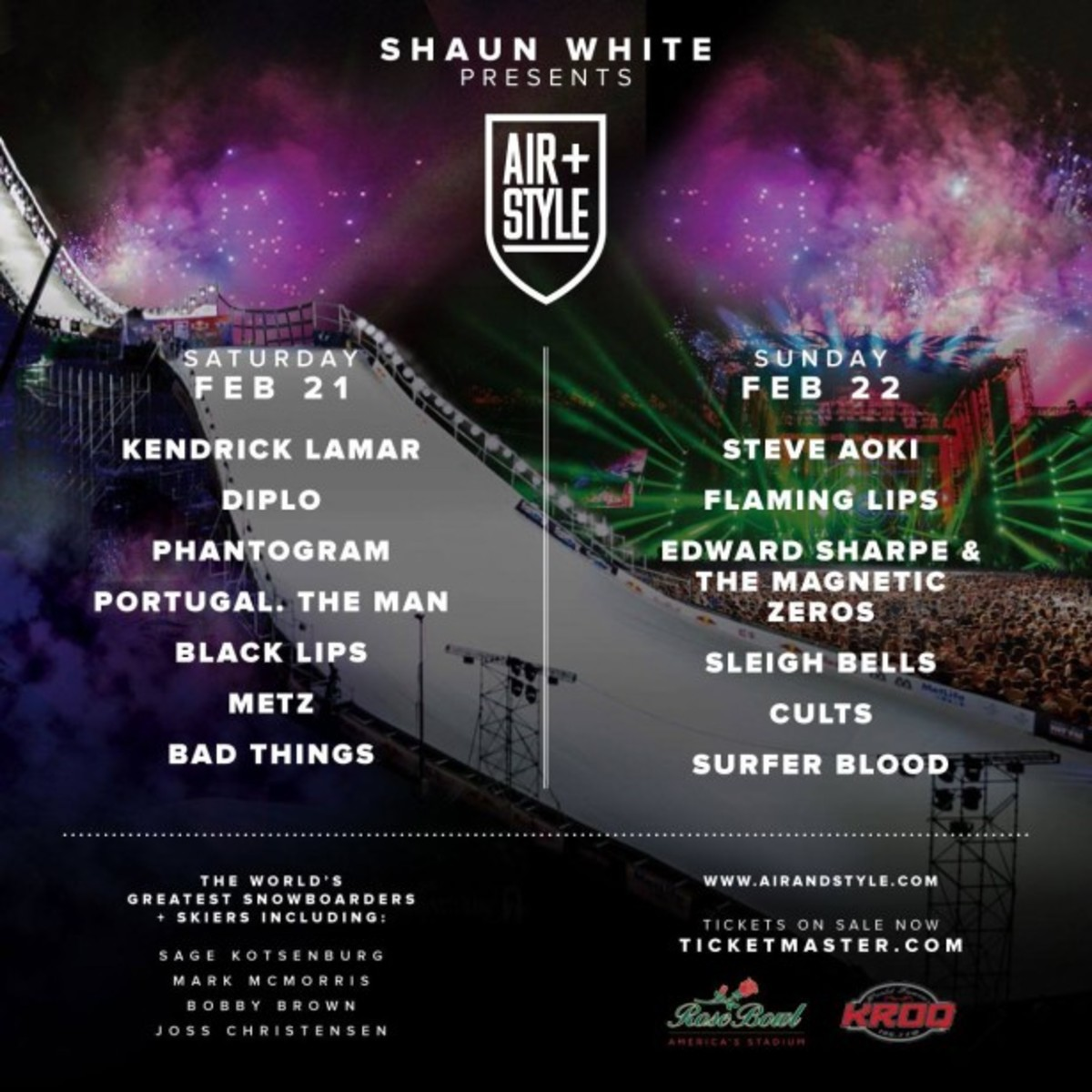 Win Tickets To Air + Style With Diplo, Steve Aoki