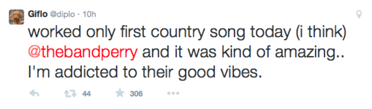 Diplo Making Country Song?