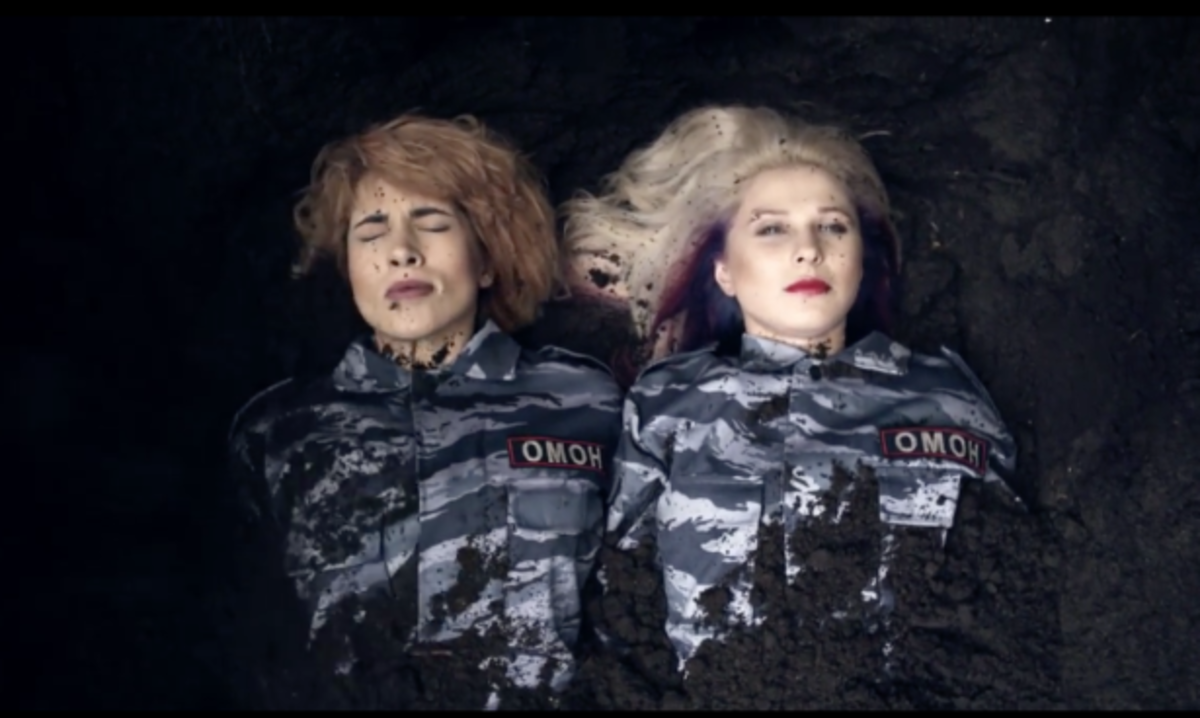 Pussy Riot Literally Buried Alive In New Video
