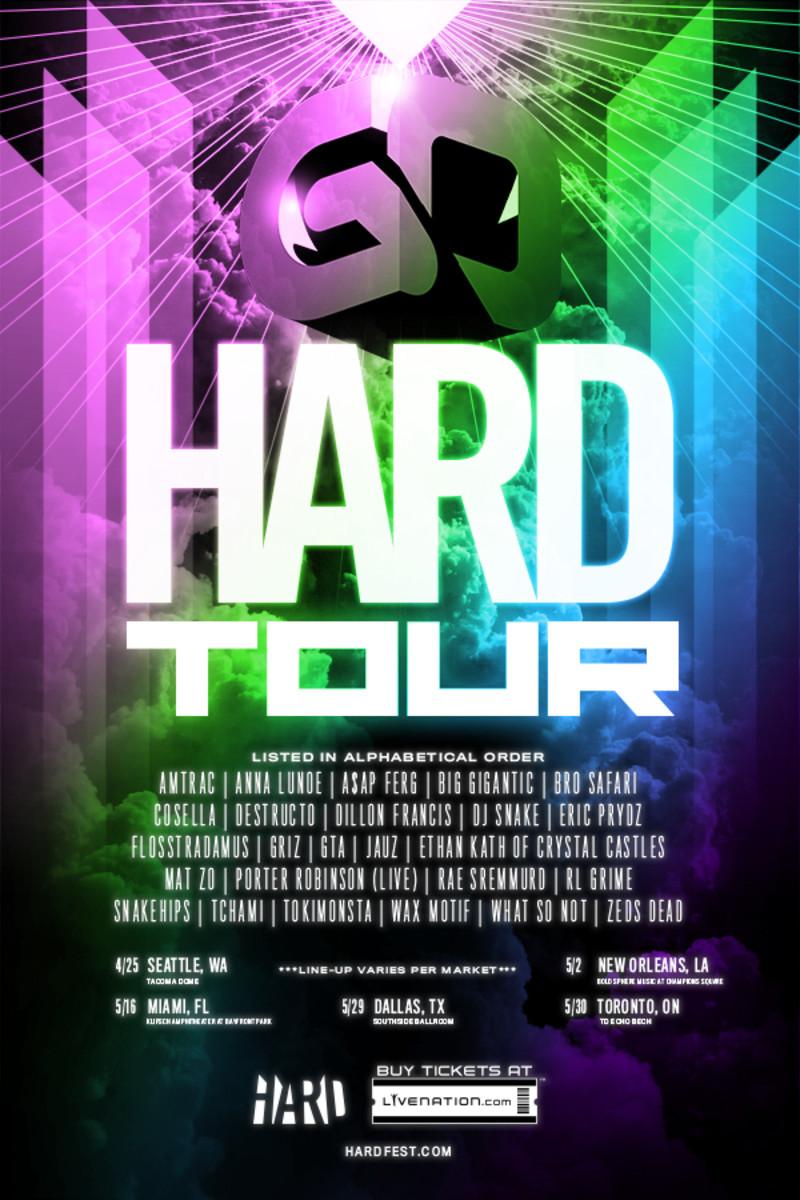 HARD Launches Unique Festival Tour