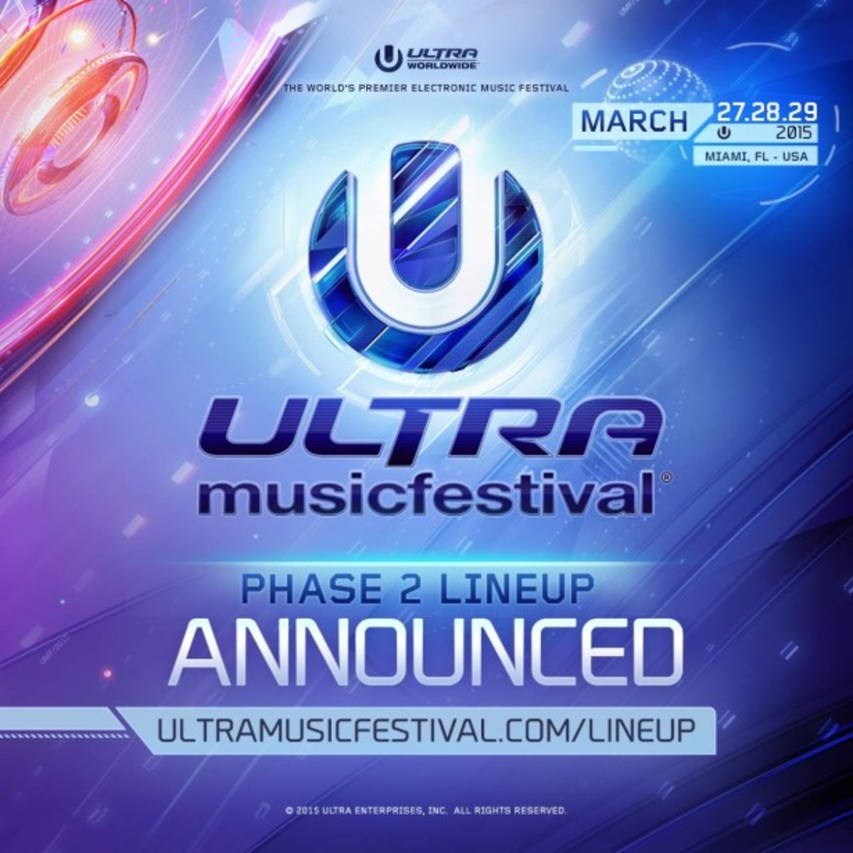 Ultra Announces Stage Lineups and New Artists