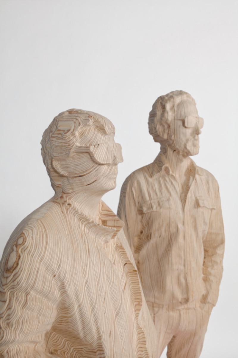 Daft PunkTurned Into Wood