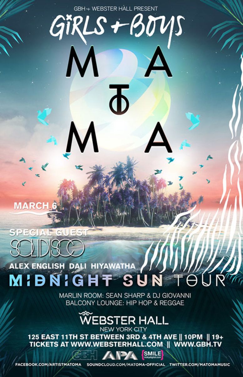 Event Spotlight Post: Webster Hall's Girls and Boys With Matoma and Solidisco