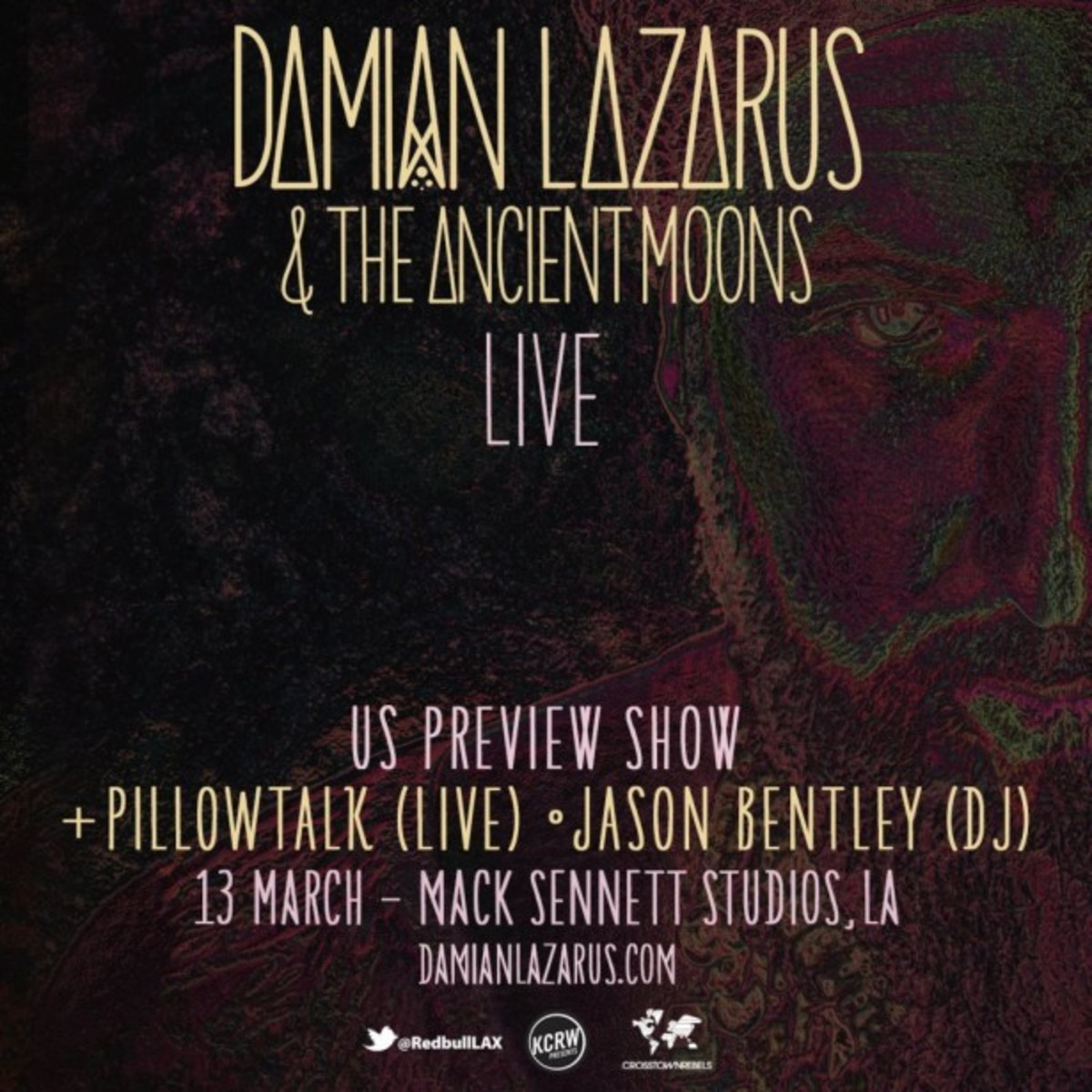 Damian Lazarus Performs the Ancient Moons Live at Mack Sennet Studios LA