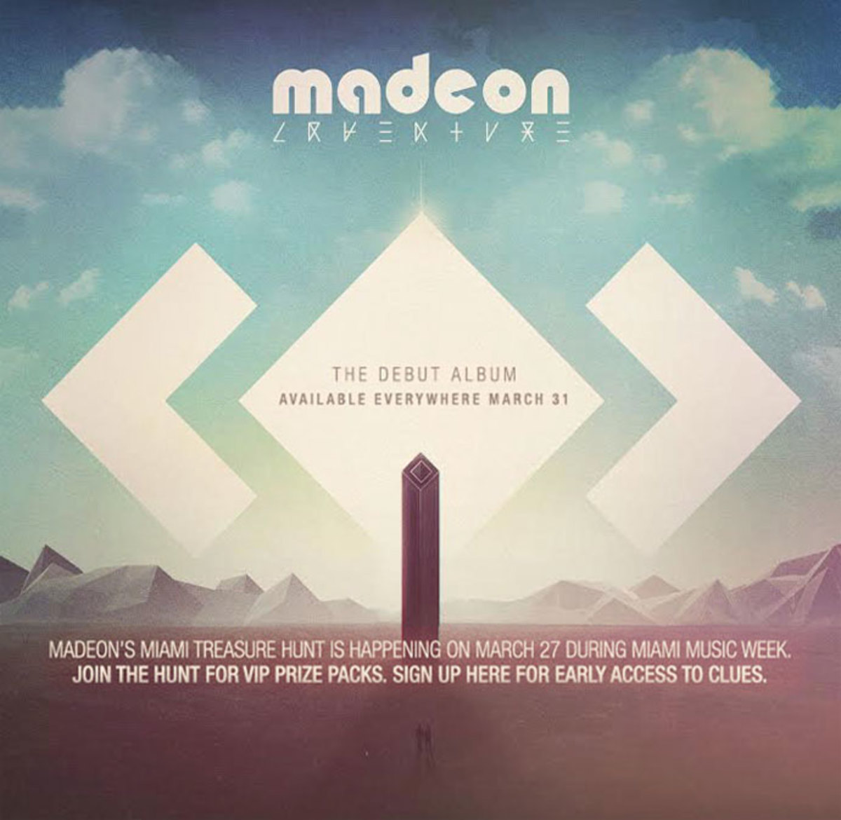 Madeon Is Taking You On An Adventure During Miami Music Week, Sign Up For The Treasure Hunt in South Beach On March 27th