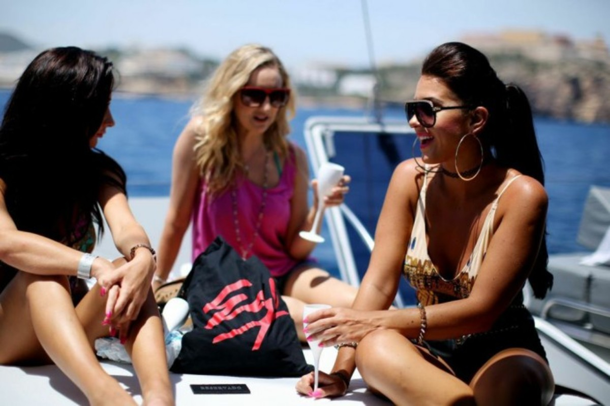 What A VIP Ibiza Yacht Party Is Like