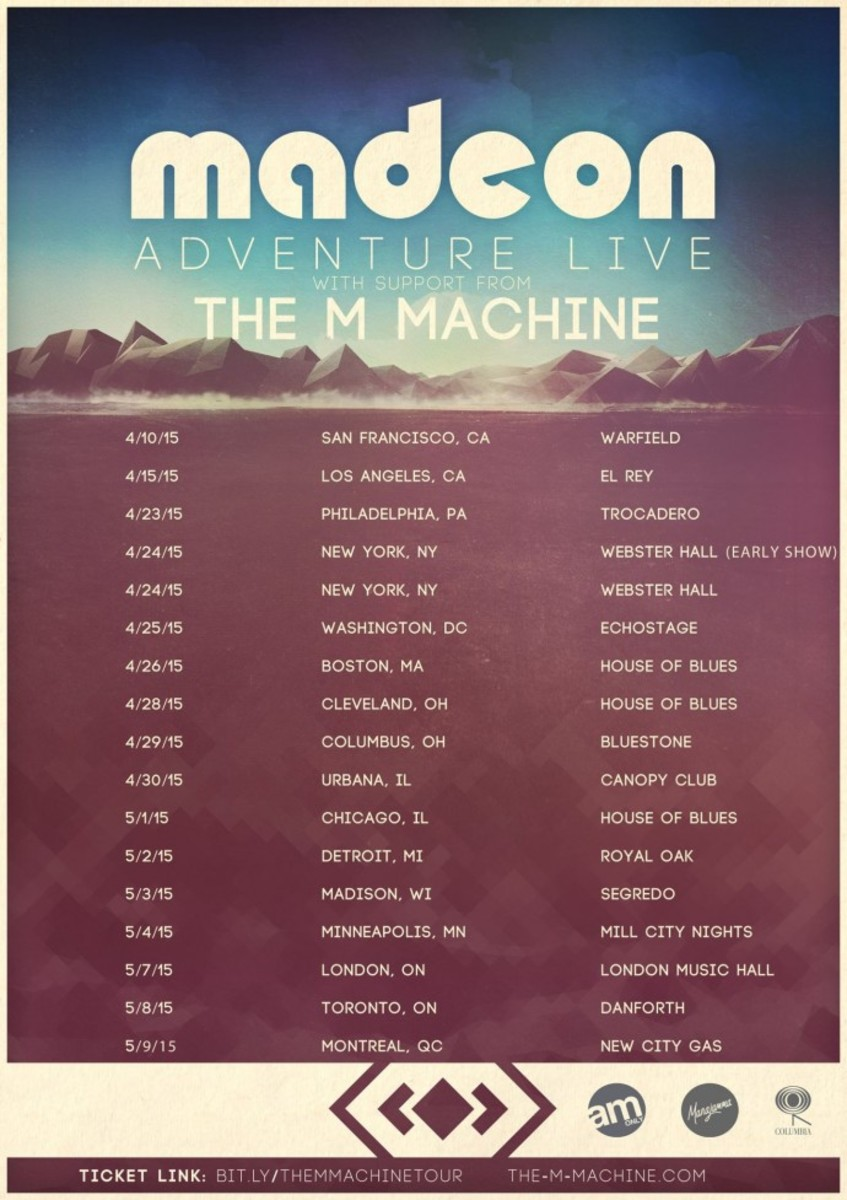 The M Machine Joining Up With Madeon