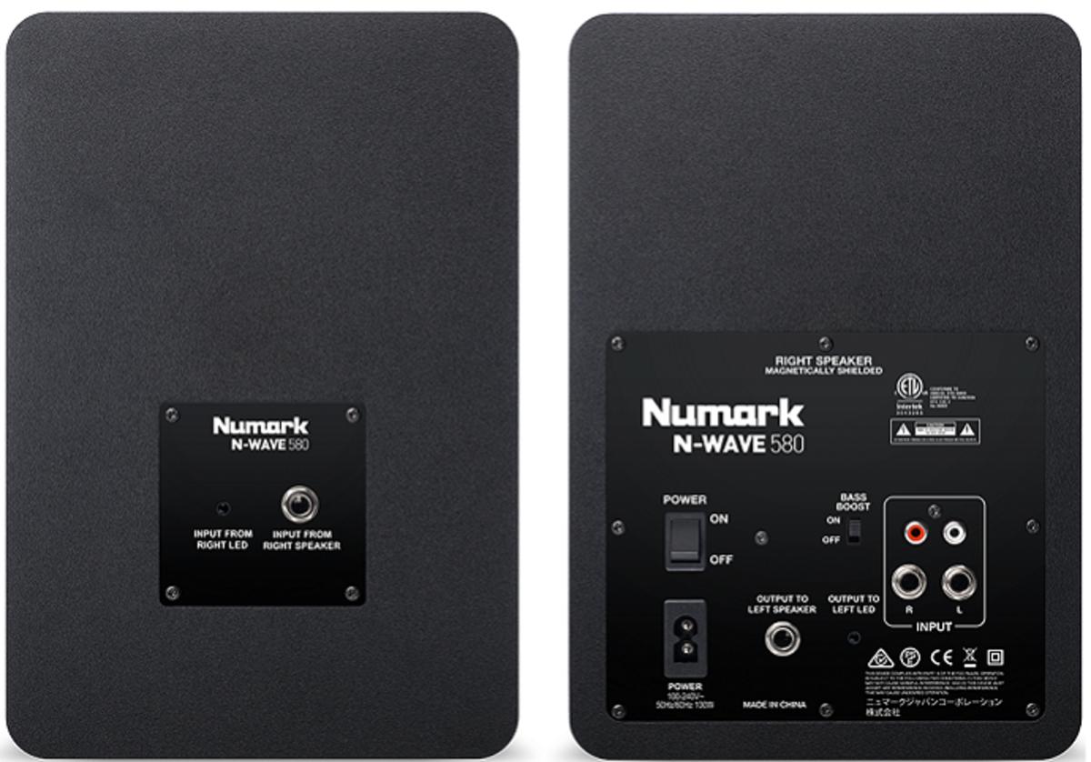 Numark nwave back