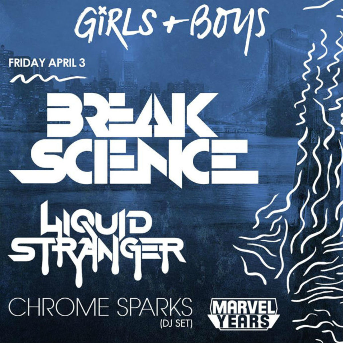 Event Spotlight Post: Break Science, Liquid Stranger and Wiwek at Webster Hall 4/3 - 4/4