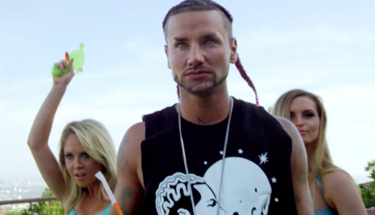 RiFF RAFF In Outrageous Trap Disaster Video