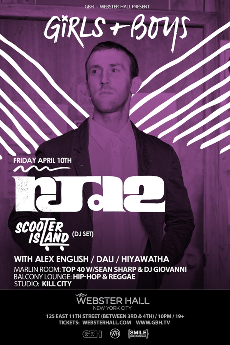 Event Spotlight: Rain Man, RJD2 and Alex English at Webster Hall NYC 4/10 - 4/11