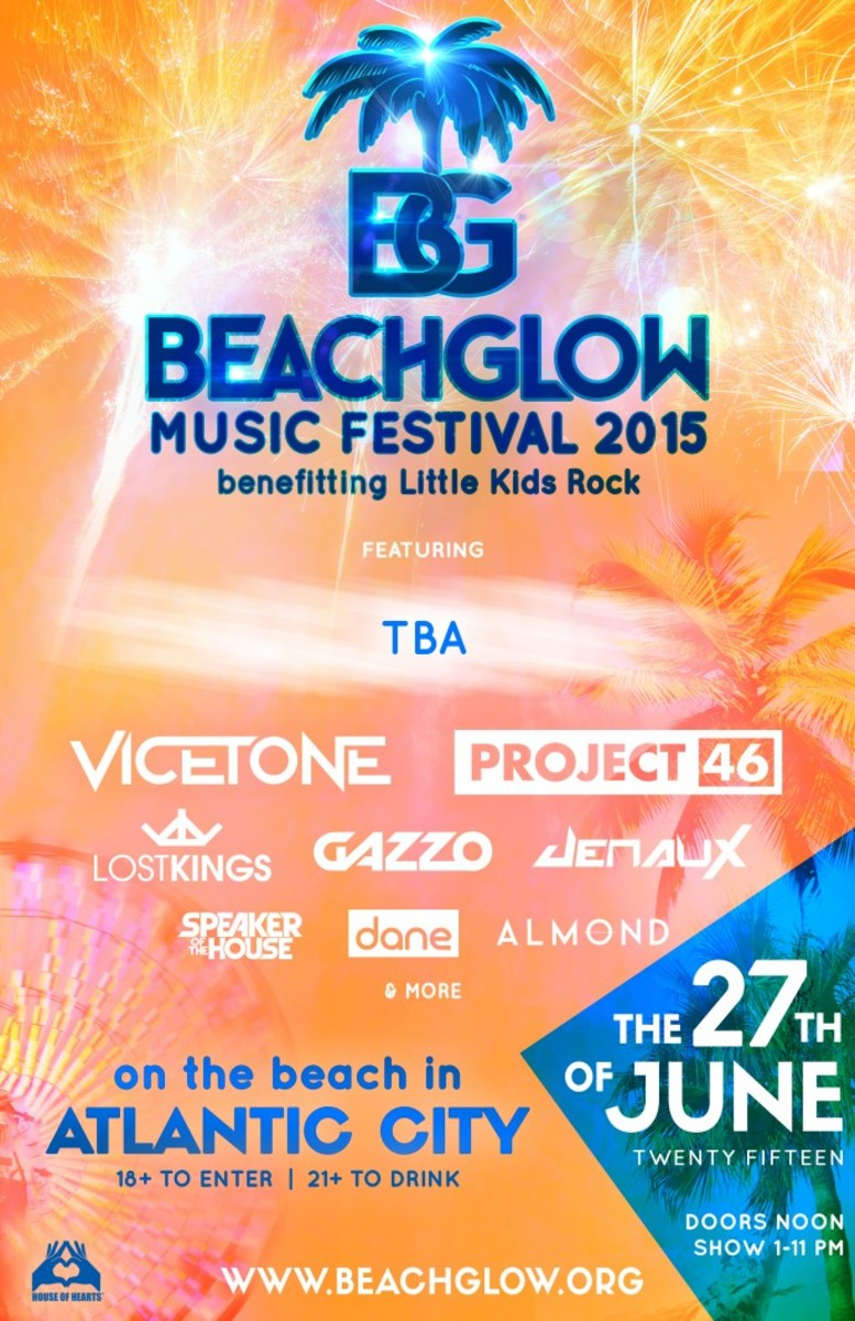 BeachGlow Lineup Wave Released