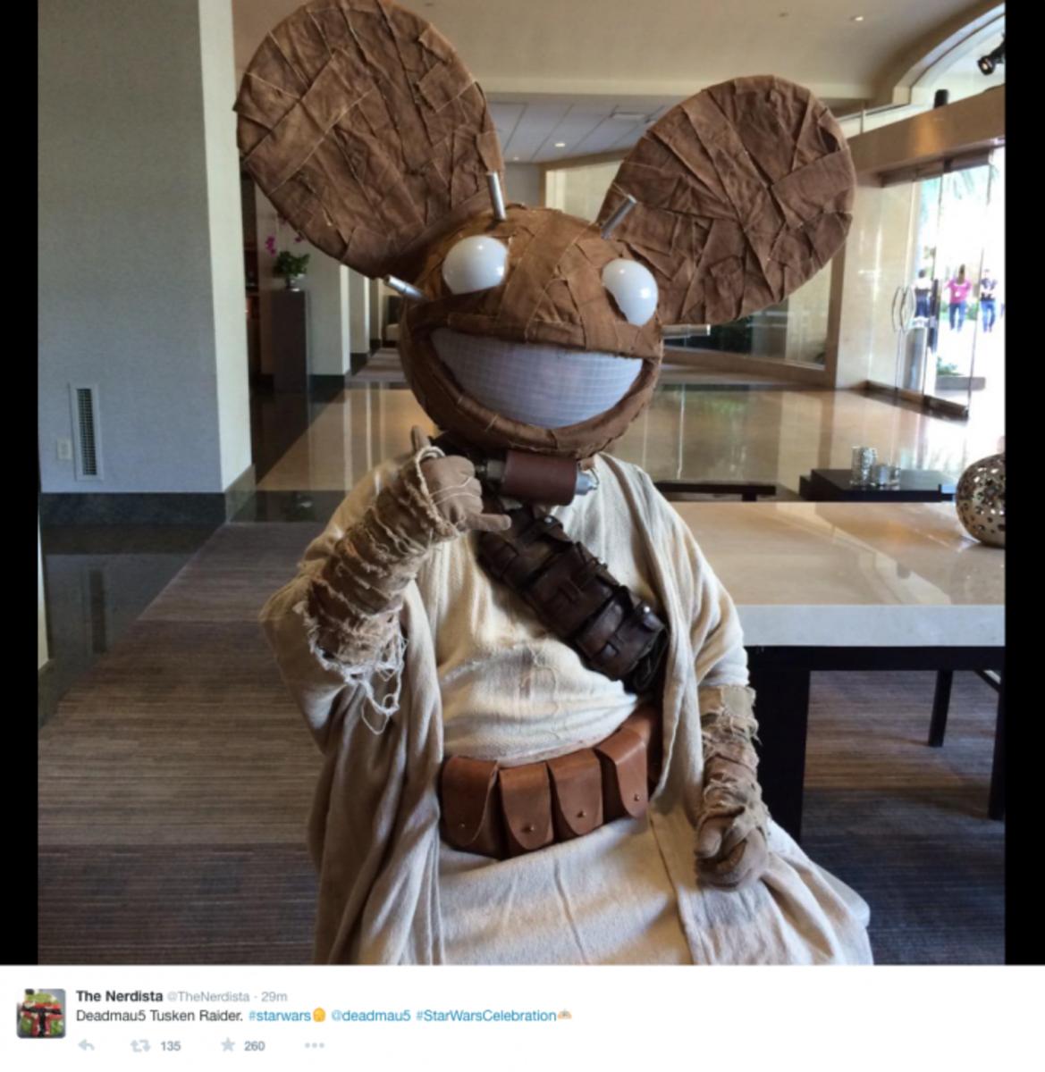 deadmau5 Makes It Into Star Wars (Kind Of)