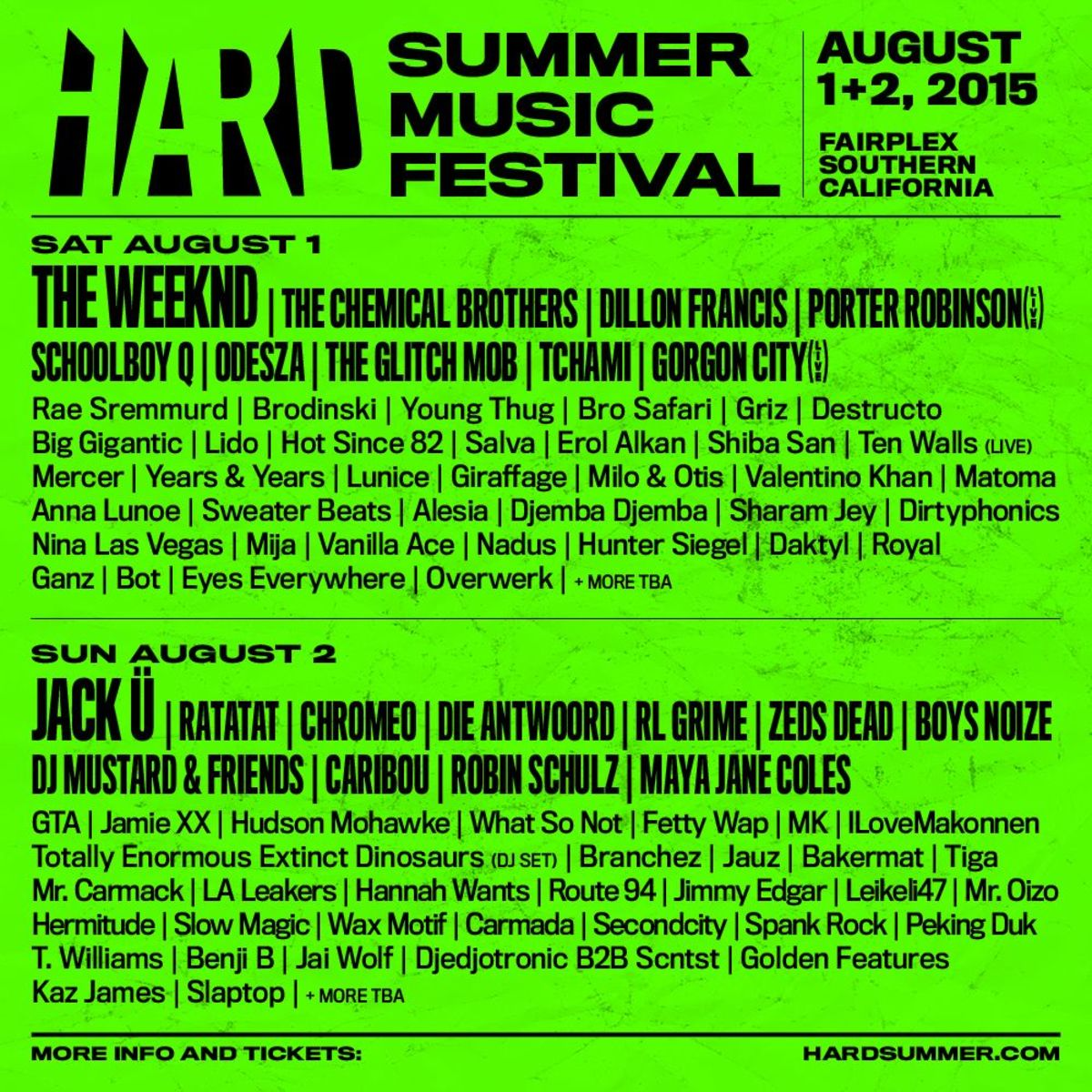 HARD Lineup Dropped With Super-Weird Video