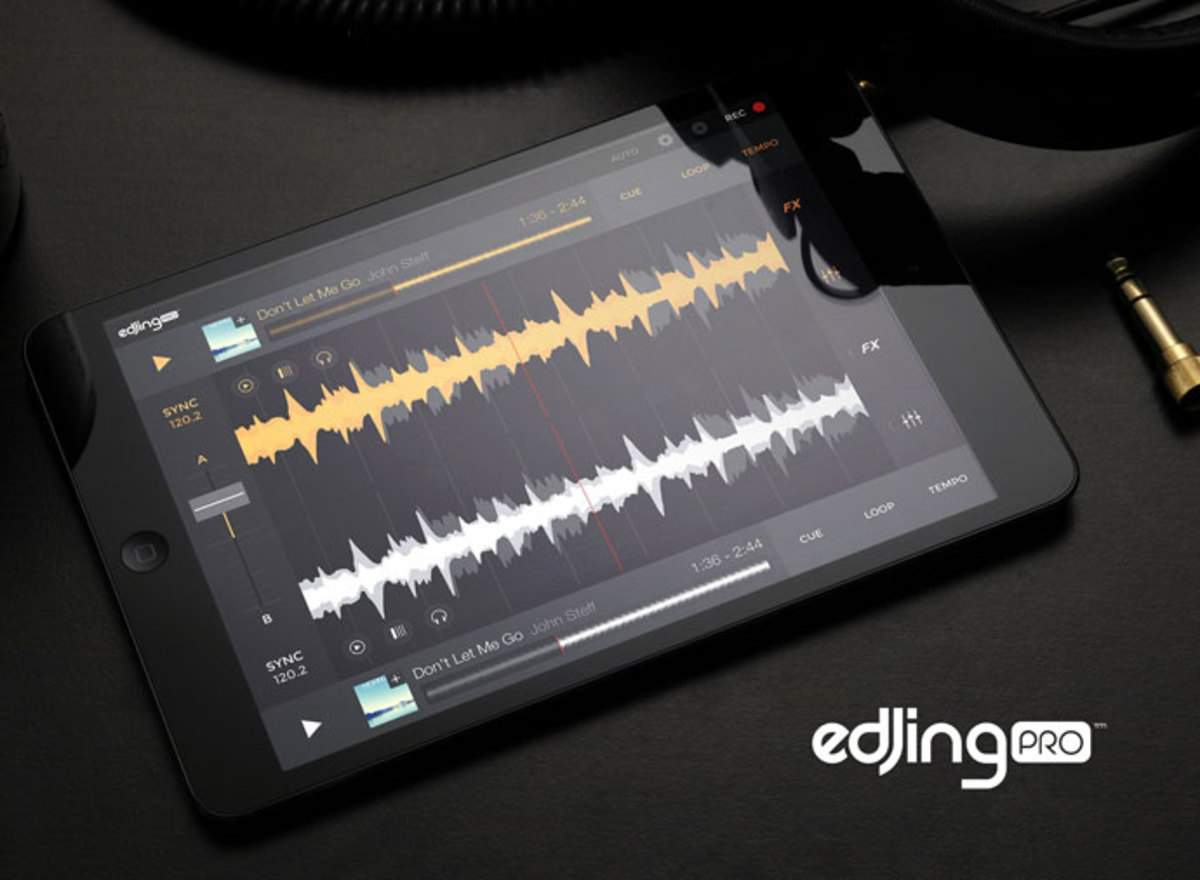 DJ Gear News: DJIT Announces edjing Pro Application For iOS/Android