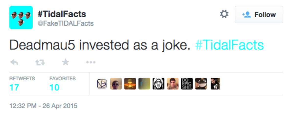 Fake TIDAL Facts Is Your New Favorite Twitter Account