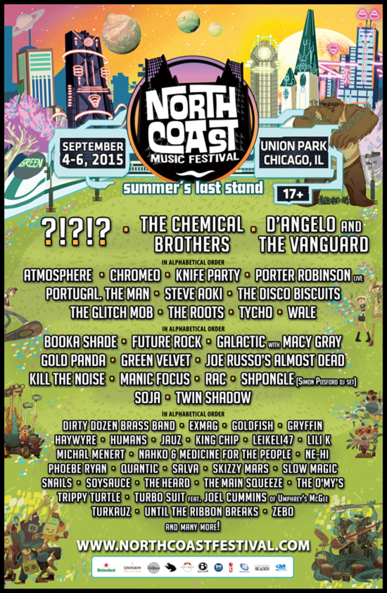 North Coast Announces Stacked Lineup For September