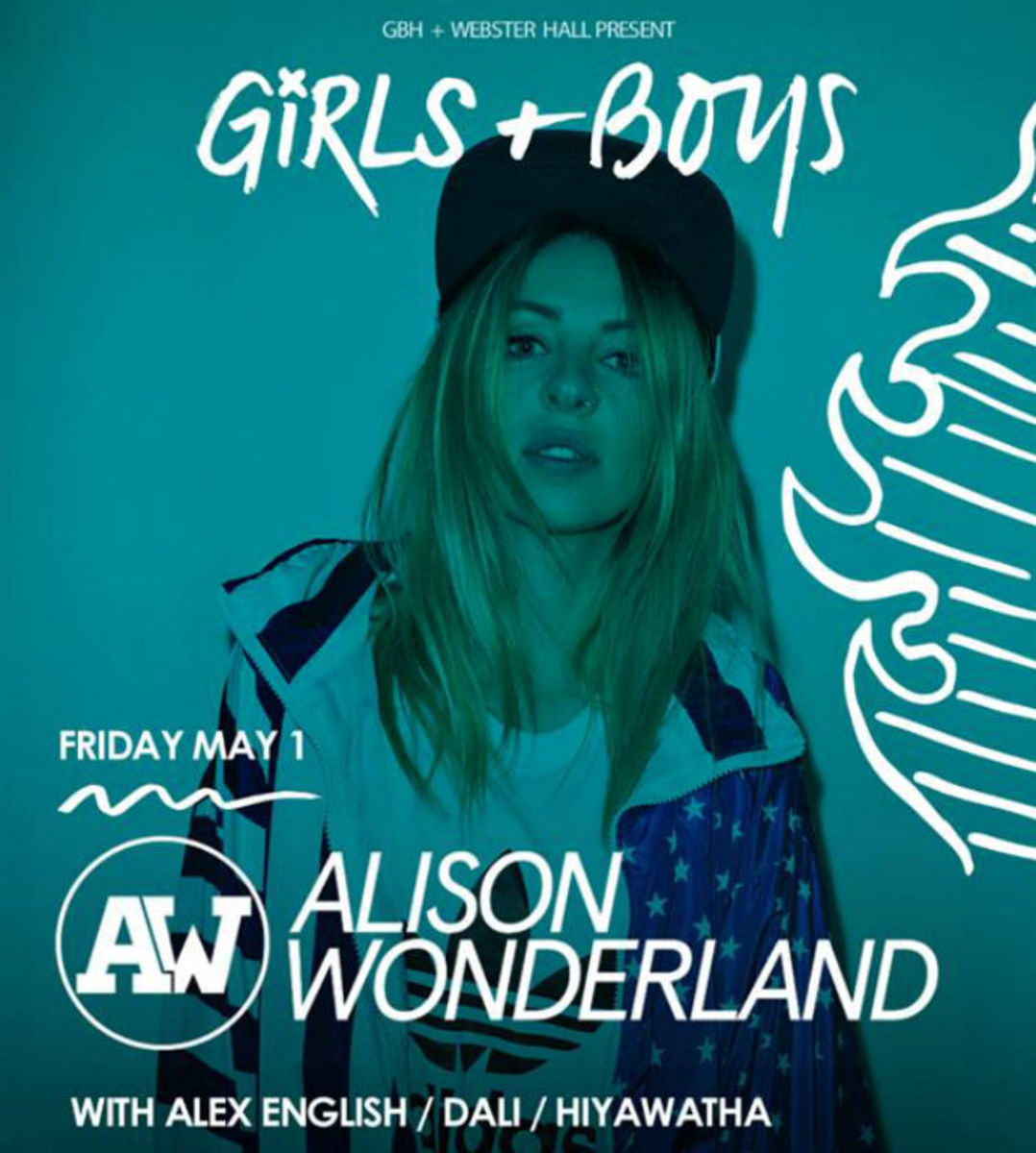 Event Spotlight: Alison Wonderland and Morgan Page at Webster Hall NYC 5/1 - 5/2