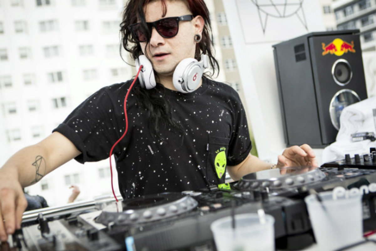 Watch Skrillex And Tempta T Party And Make Music Together