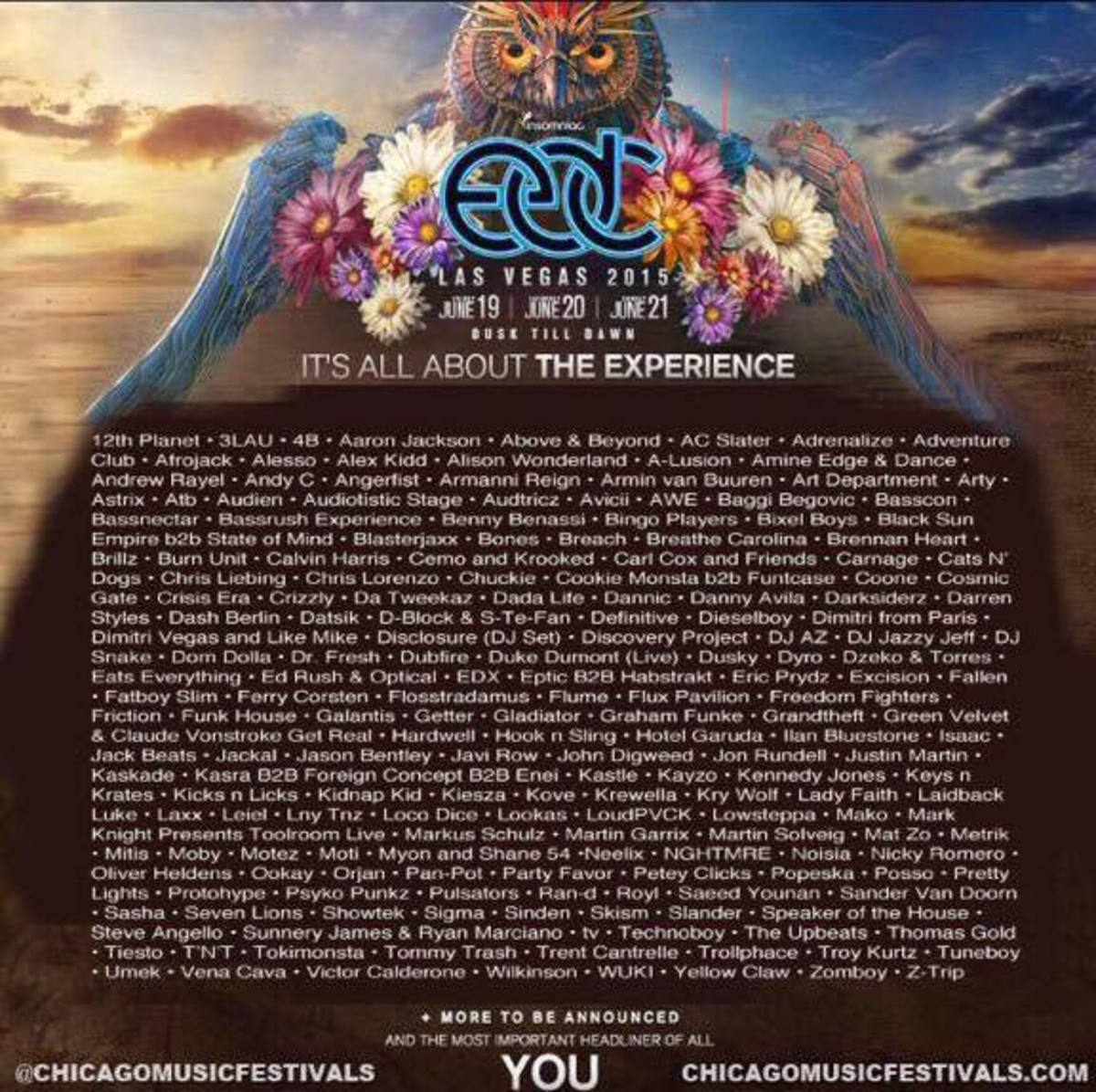 EDC Las Vegas Finally Releases Official Lineup