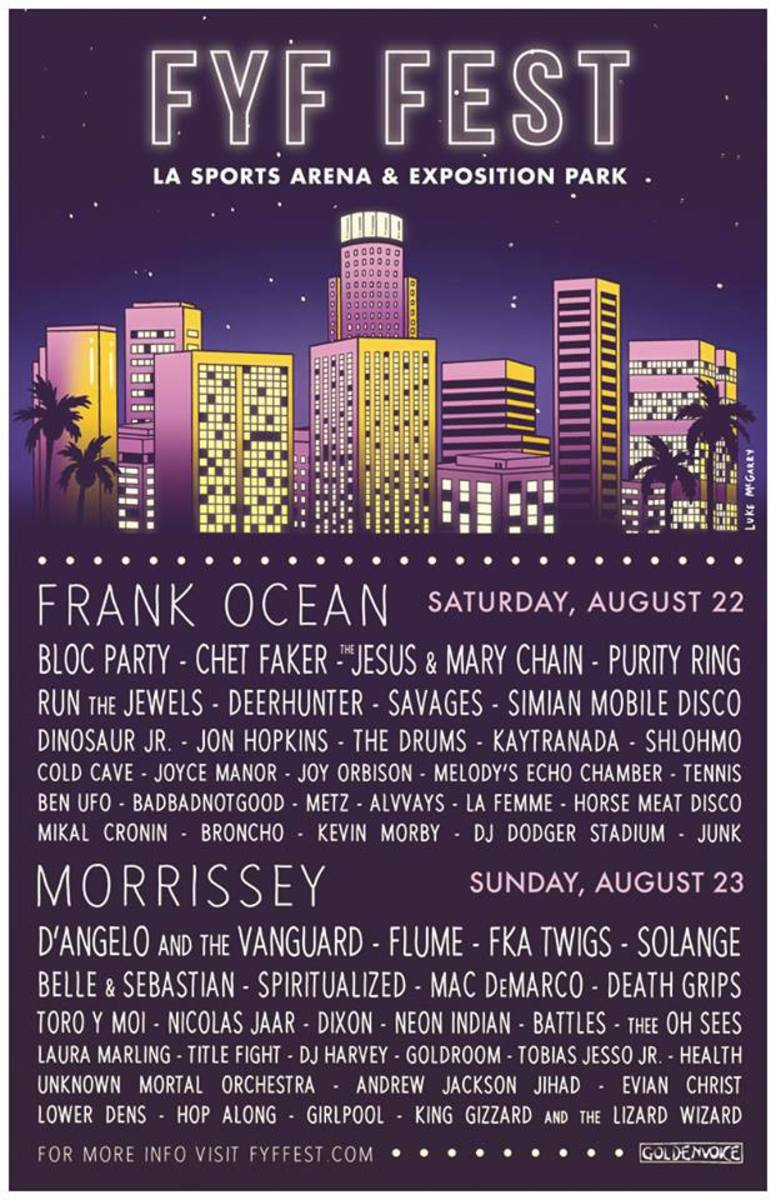 FYF Fest Drops Stacked Lineup With Inide And Electronic Talent