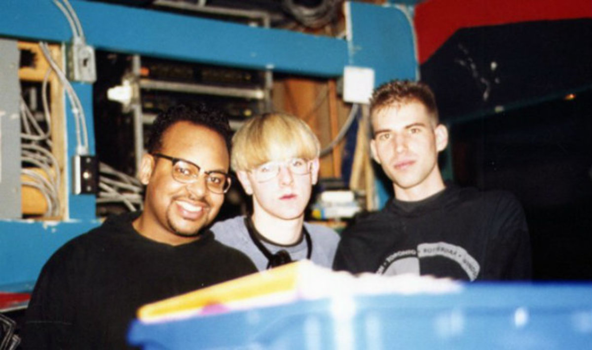 Watch Richie Hawtin Perform Live Tehcno In 1990