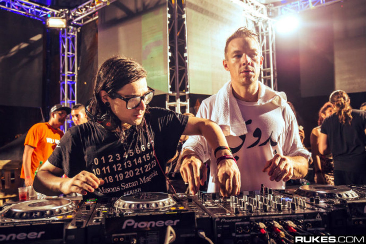 Skrillex And Diplo Just Performed At The NBA Playoffs