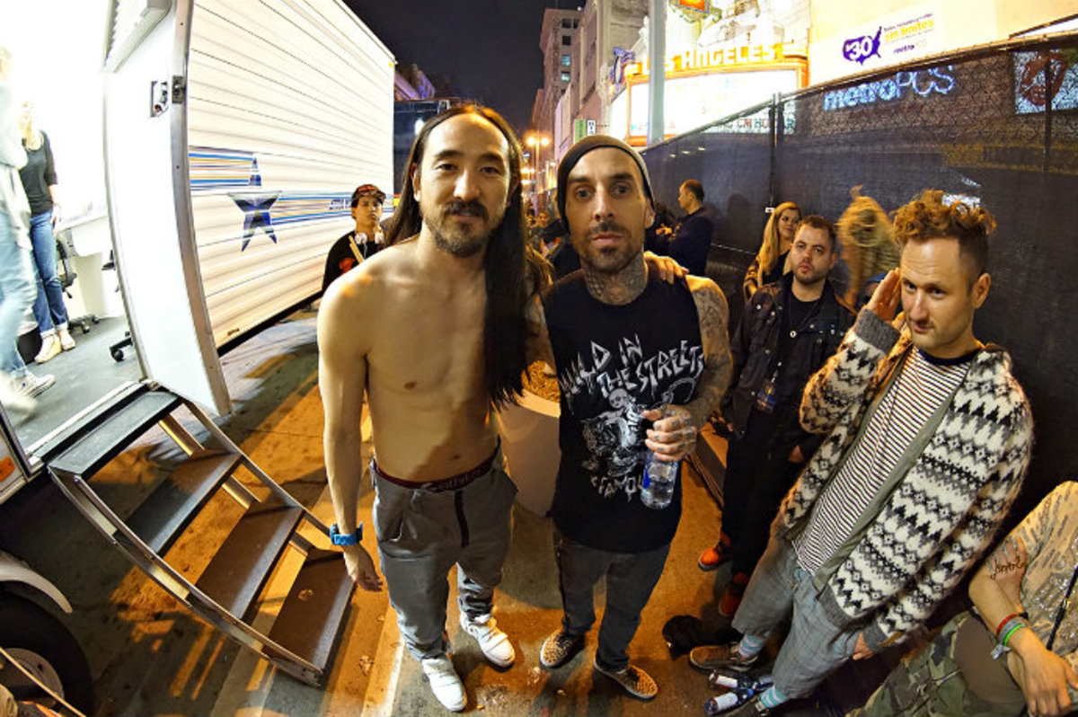 Steve Aoki: Pictures And Video From His Los Angeles Street Takeover