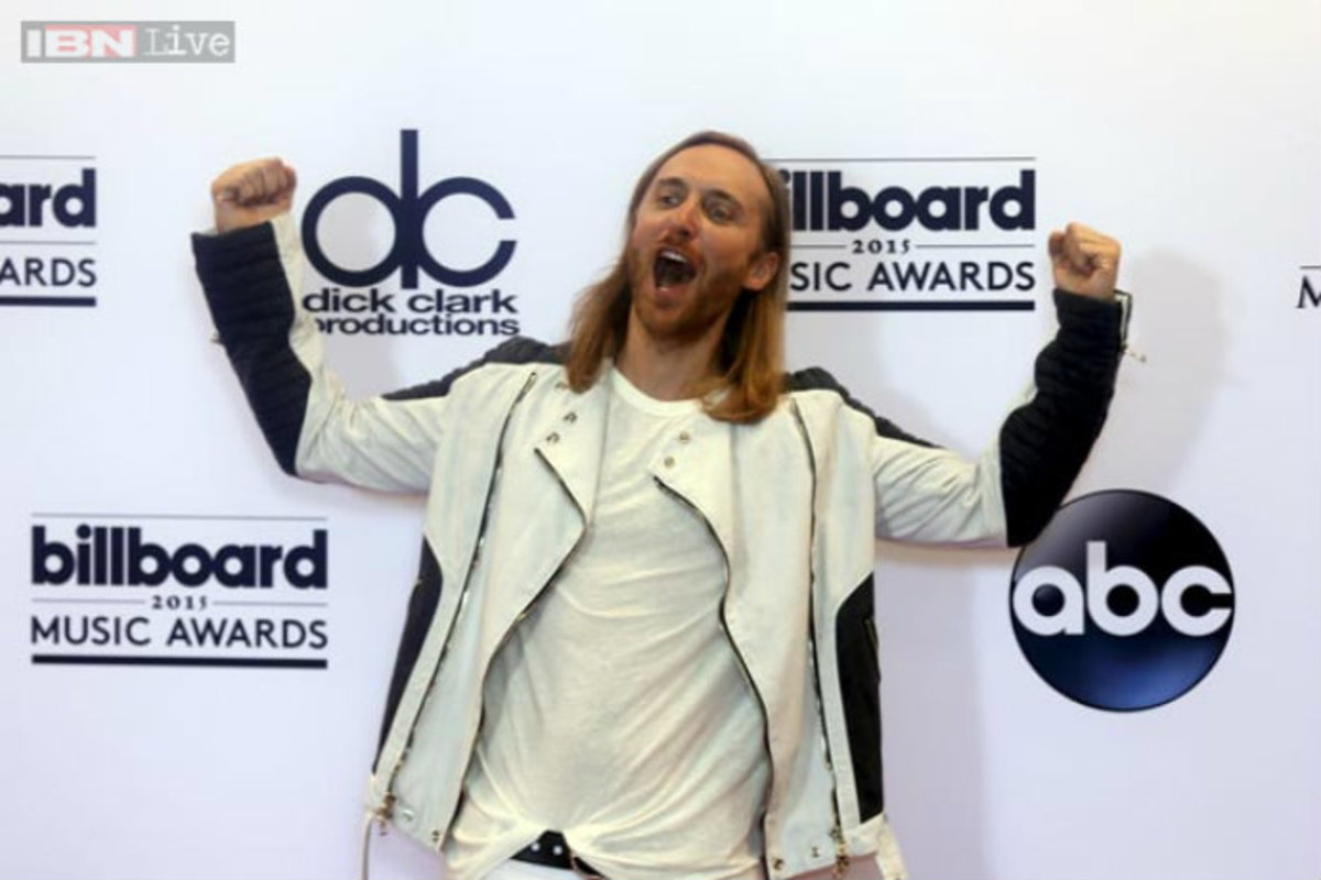 David Guetta Further Proves He Is Actually Your Insane Grandpa With Billboard Performance