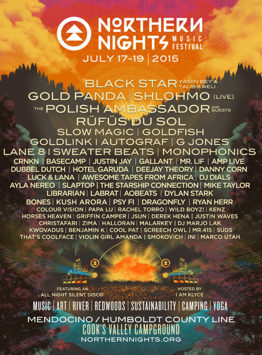 Northern Nights Festival Releases Impressive Phase II Lineup