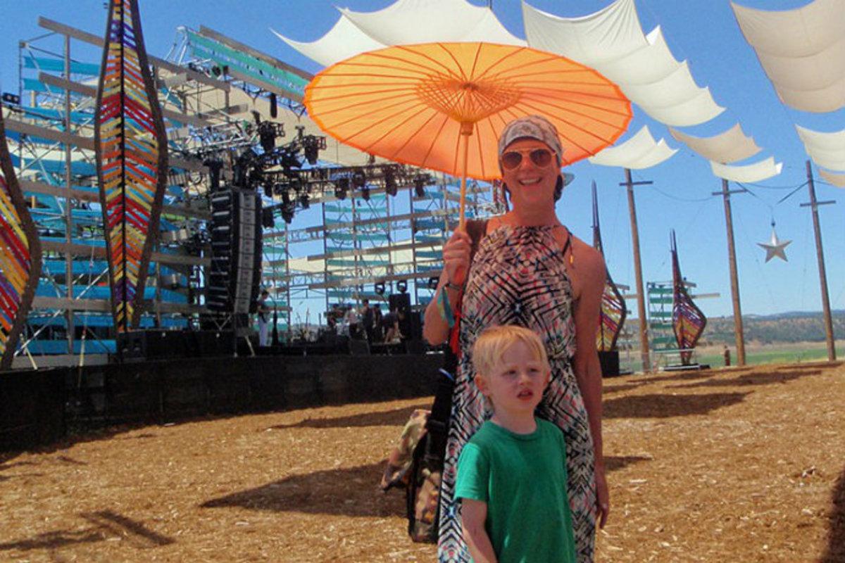 Leukemia Patient Seeks Healing At Electronic Music Festival