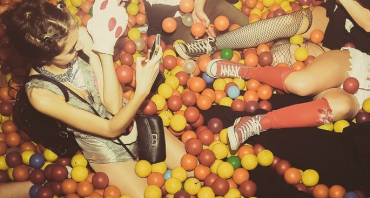 Peep This Crazy Club With Ball Pits And Bouncy Castles (Video)