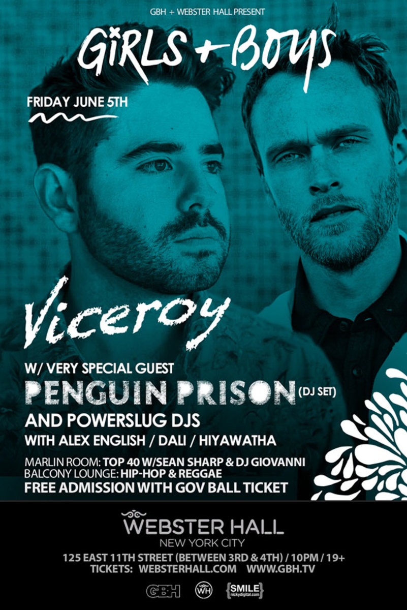 Event Spotlight: The Weekend In NYC Heats Up With Viceroy, Penguin Prison, Ghastly and Kyliox at Webster Hall NYC