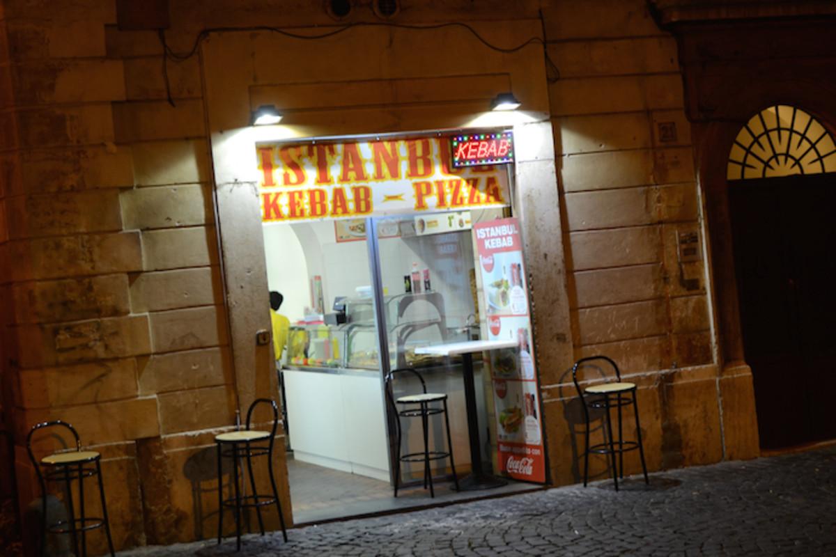 Istanbul Kebab at Largo Argentina