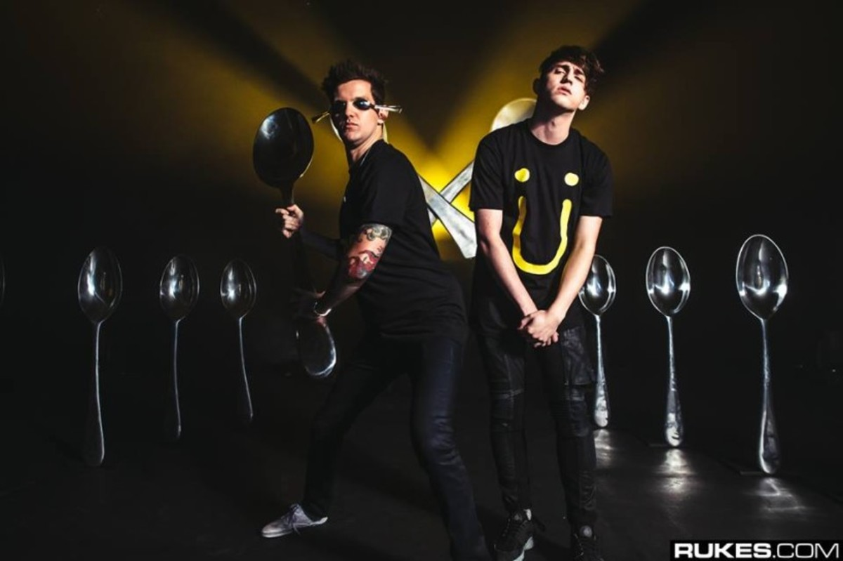 Dillon Francis And Porter Robinson Challenge Apple. It Involves Spoons