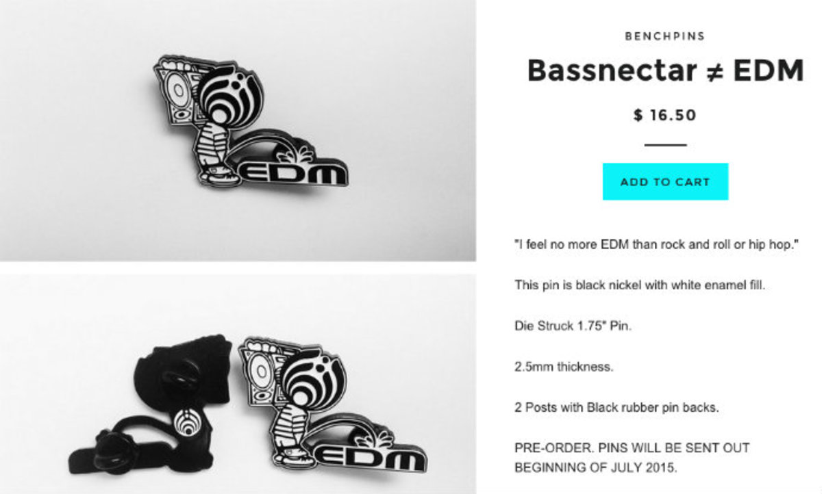 Bassnectar Literally Pissed On EDM Culture With Bold Statement