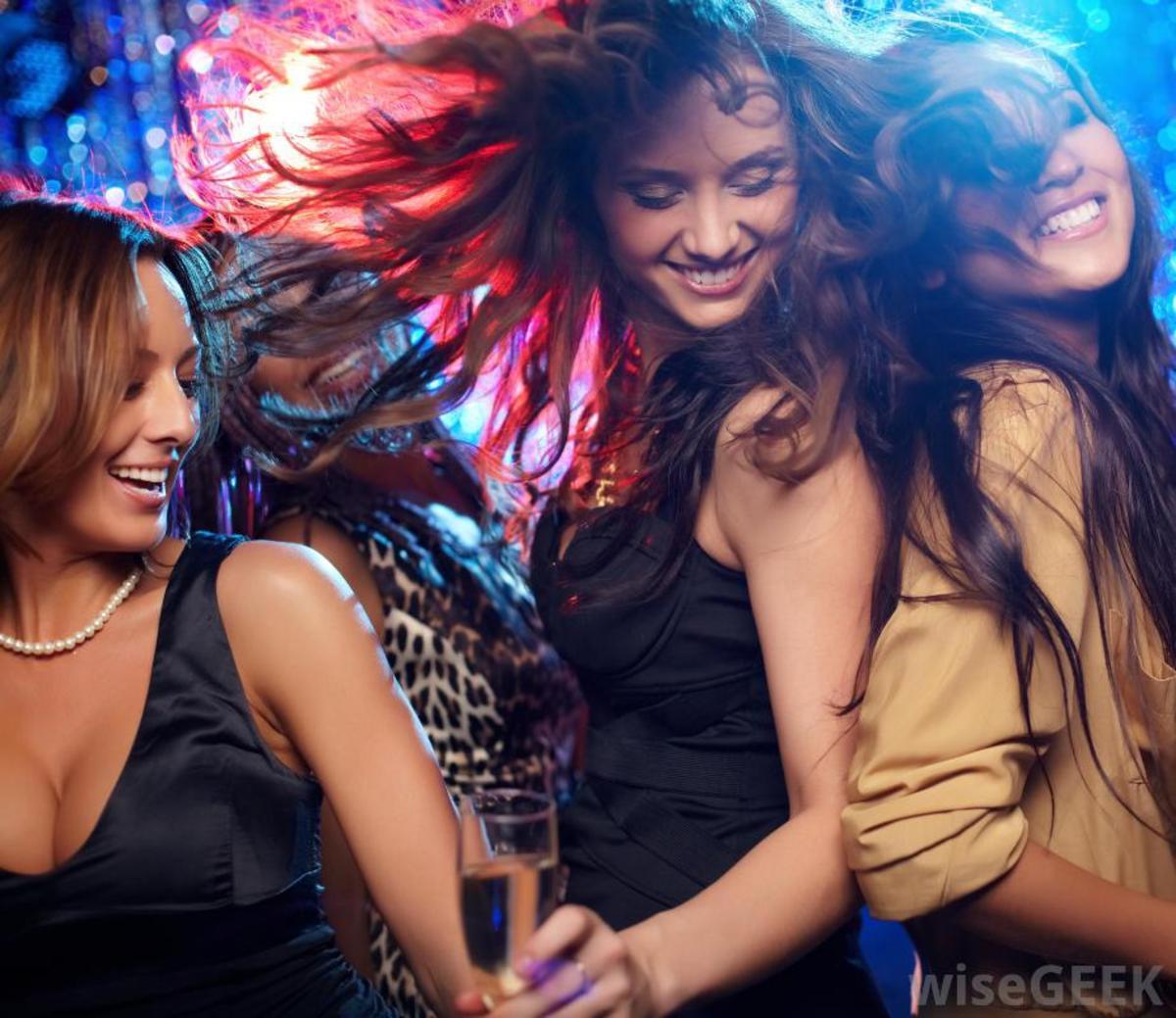 women-at-night-club