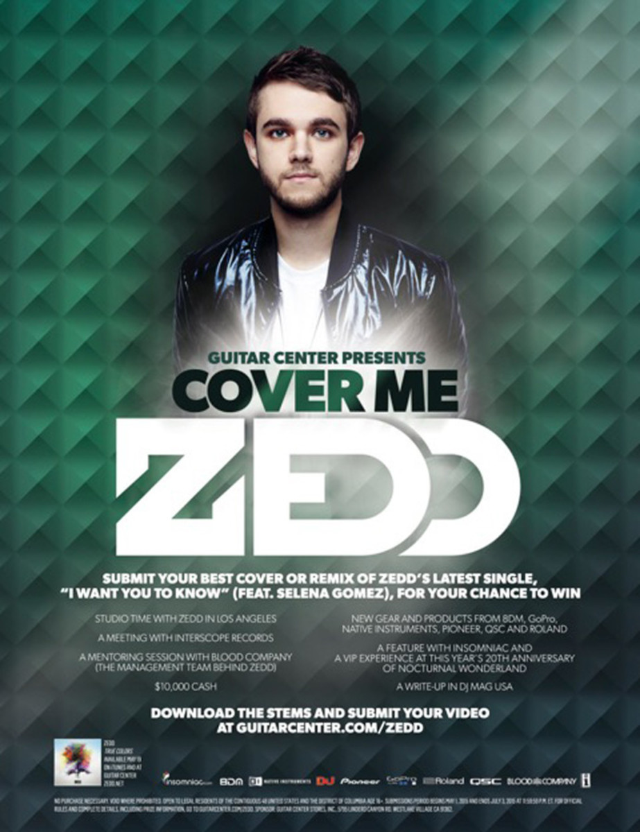 "Contest: Cover Zedd's ""I Want You to Know"" For A Chance To Win $10,000 and More"