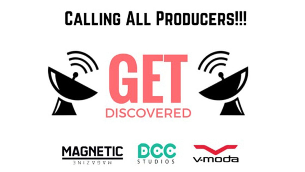 "Calling all Amateur Producers - DCC Studios Presents The ""Get Discovered"" Contest"
