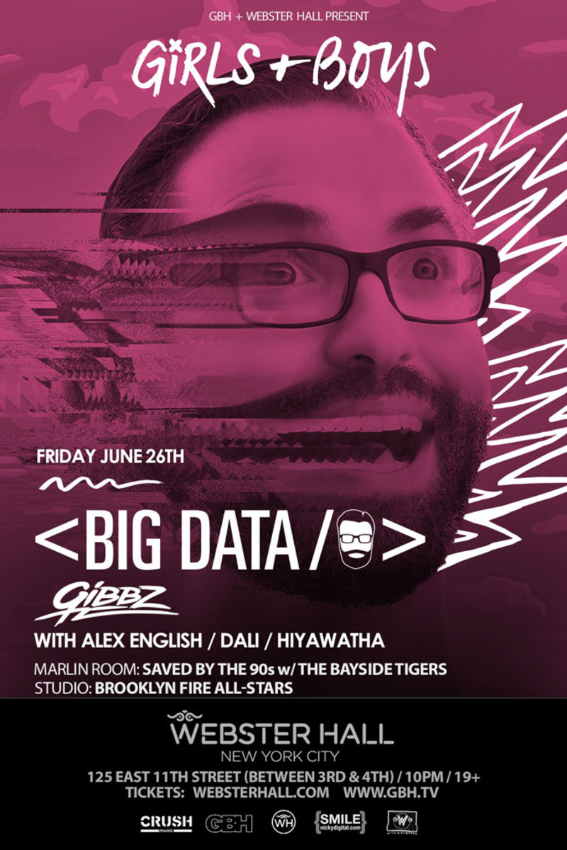 Event Spotlight: This Weekend at Webster Hall - Big Data and Teemid