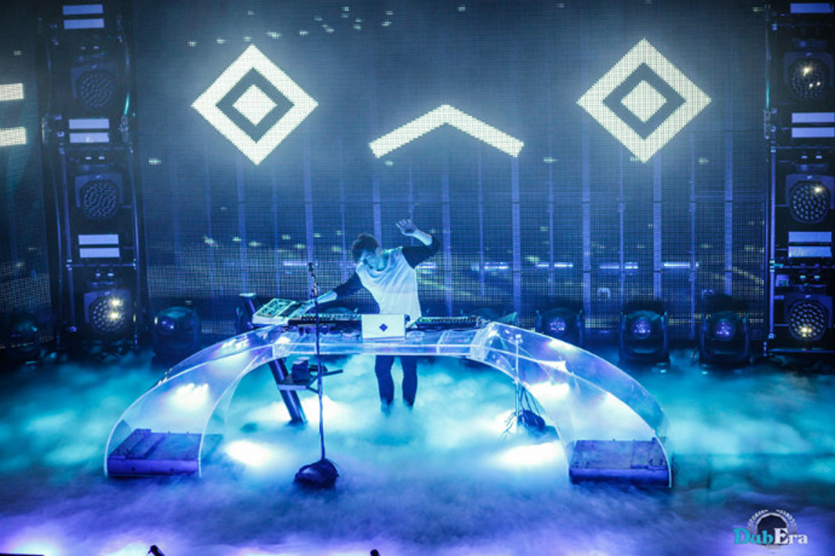 Image result for porter robinson on stage