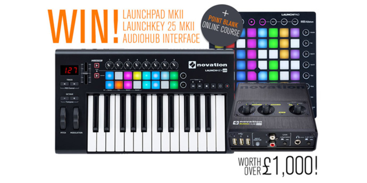 Last Chance! Win Huge Producer Package from Novation & Focusrite Worth Over $2000