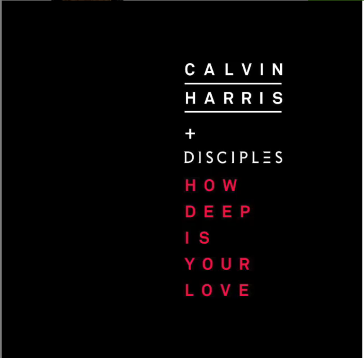Calvin Harris Teases New Single And It's Deep