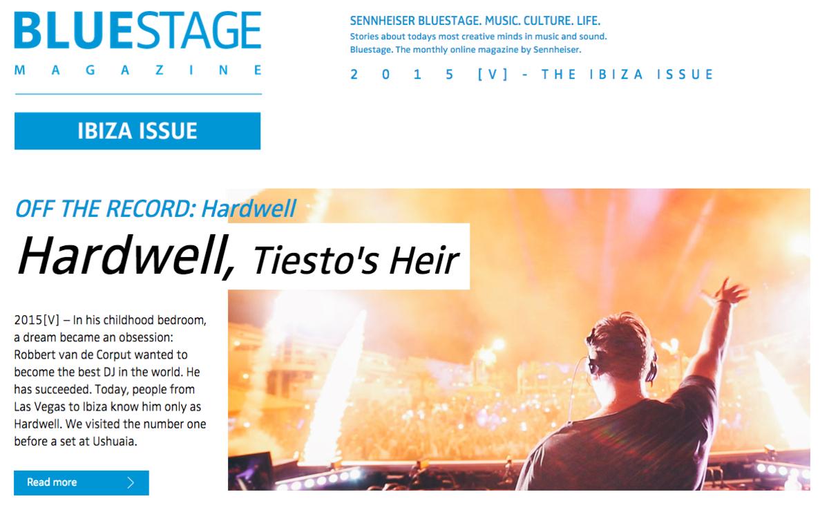 "Sennheiser Releases ""Ibiza Issue"" Of Bluestage Magazine, Definitely Worth A Read"