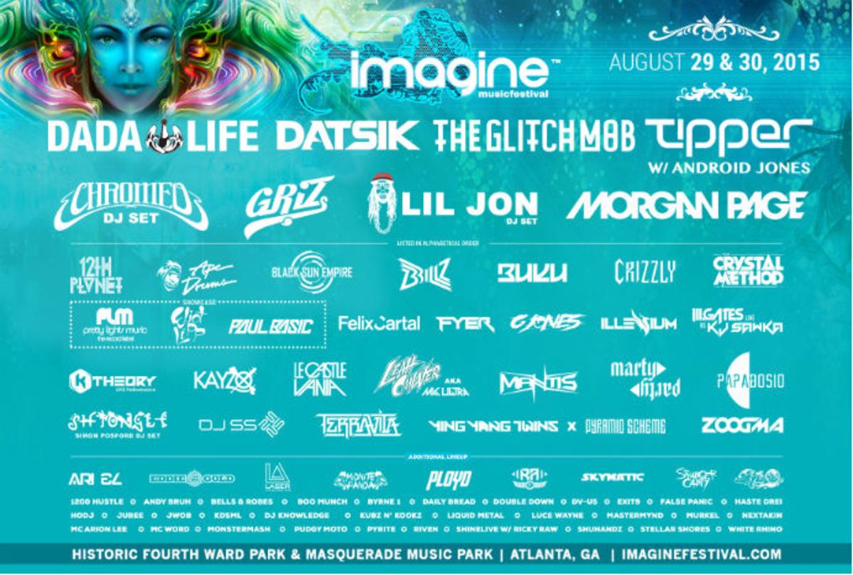 imagine lineup