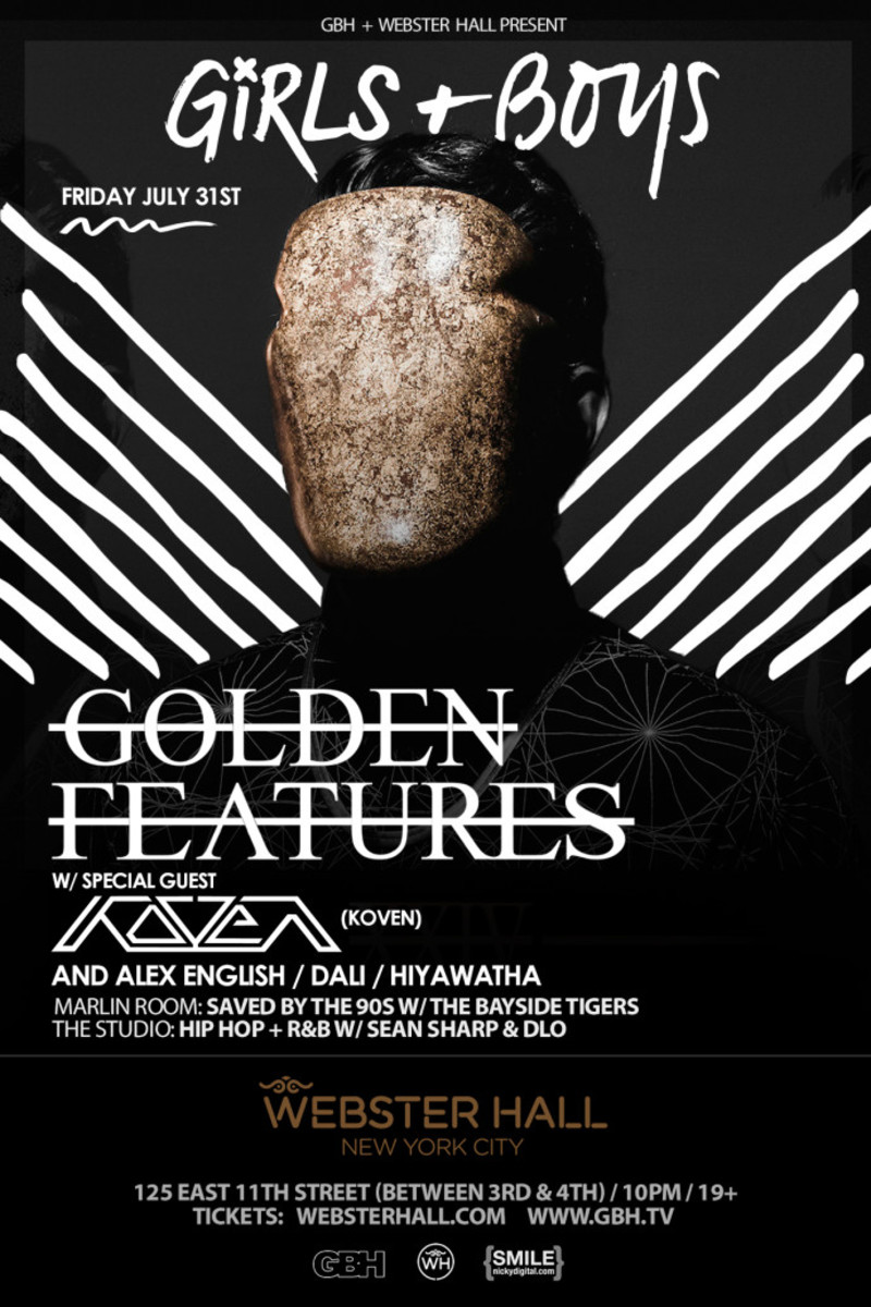 Event Spotlight: This Weekend At Webster Hall NYC - Golden Features and Zomboy